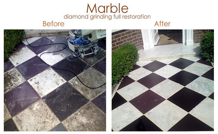 Marble restoration & repolished
